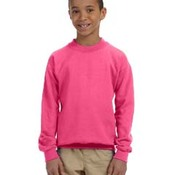 Youth Heavy Blend™  8 oz., 50/50 Fleece Crew