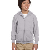 Youth Heavy Blend™  8 oz., 50/50 Full-Zip Hood