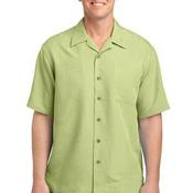 Patterned Easy Care Camp Shirt