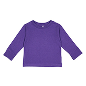Toddler Long Sleeve Cotton Jersey T-Shirt