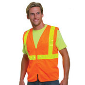 Mesh Safety Vest - Orange