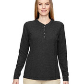 Ladies' Excursion Nomad Performance Waffle Henley