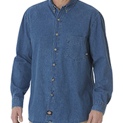 8 OZ DENIM LONG SLEEVE SHIRT