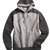 Double Dry Eco Colorblocked Hooded Sweatshirt