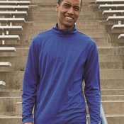 Striated Quarter-Zip Pullover