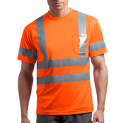Ansi 107 Class 3 Short Sleeve Snag Resistant Reflective T Shirt