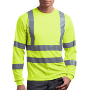 Ansi 107 Class 3 Long Sleeve Snag Resistant Reflective T Shirt
