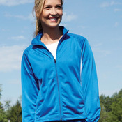 Women's Brushed Tricot Medalist Jacket