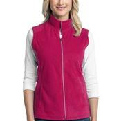 Ladies Microfleece Vest