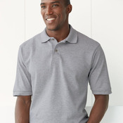 Ringspun Cotton Pique Sport Shirt