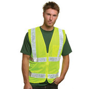 Mesh Safety Vest - Lime